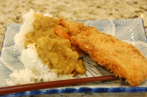 chicken katsu and curry