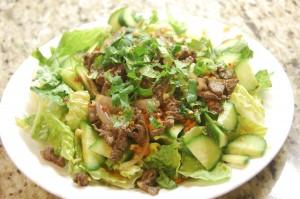 Yam Neua (Thai Spicy Beef Salad)