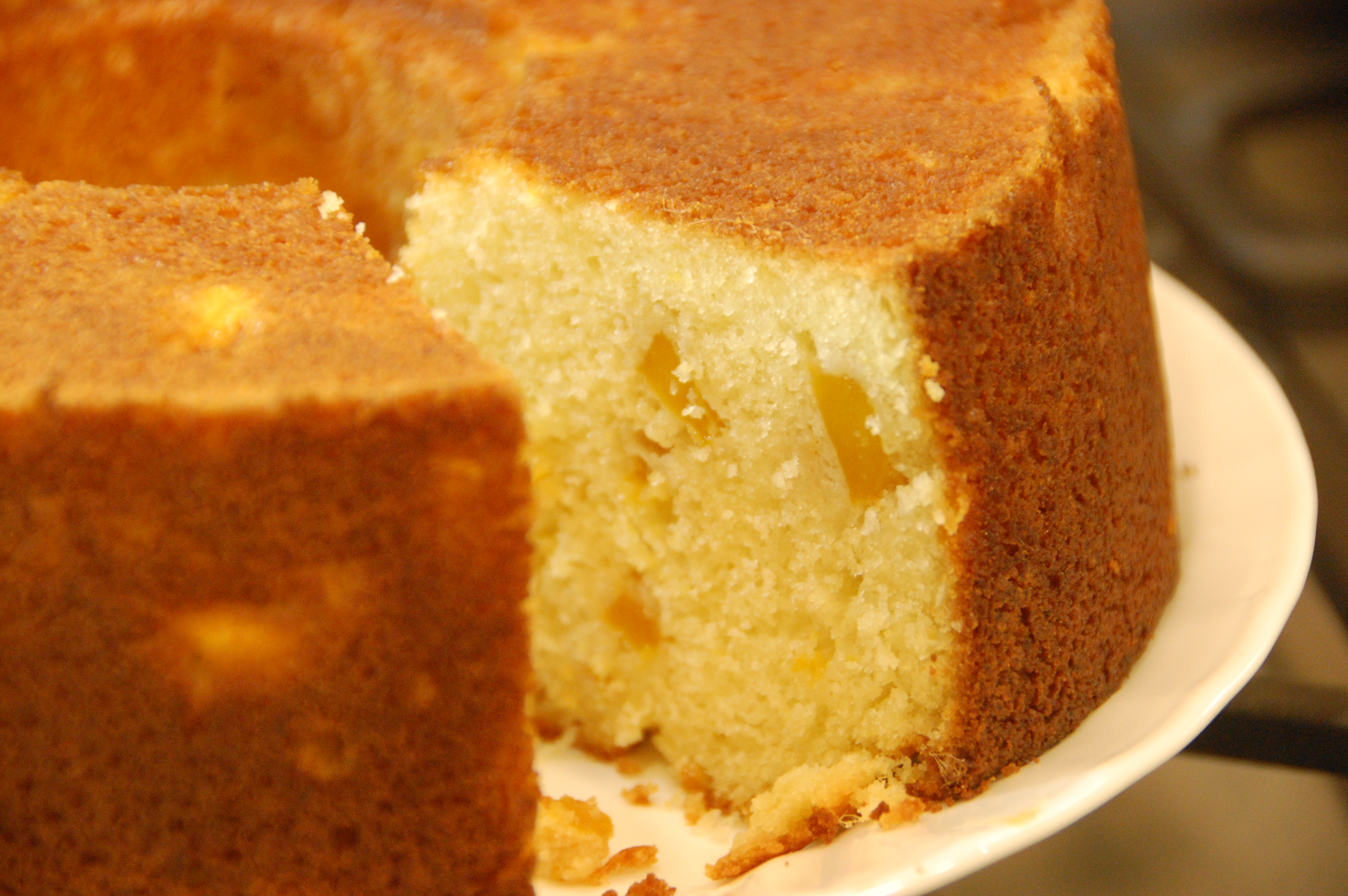 How To Add Fruit To Pound Cake