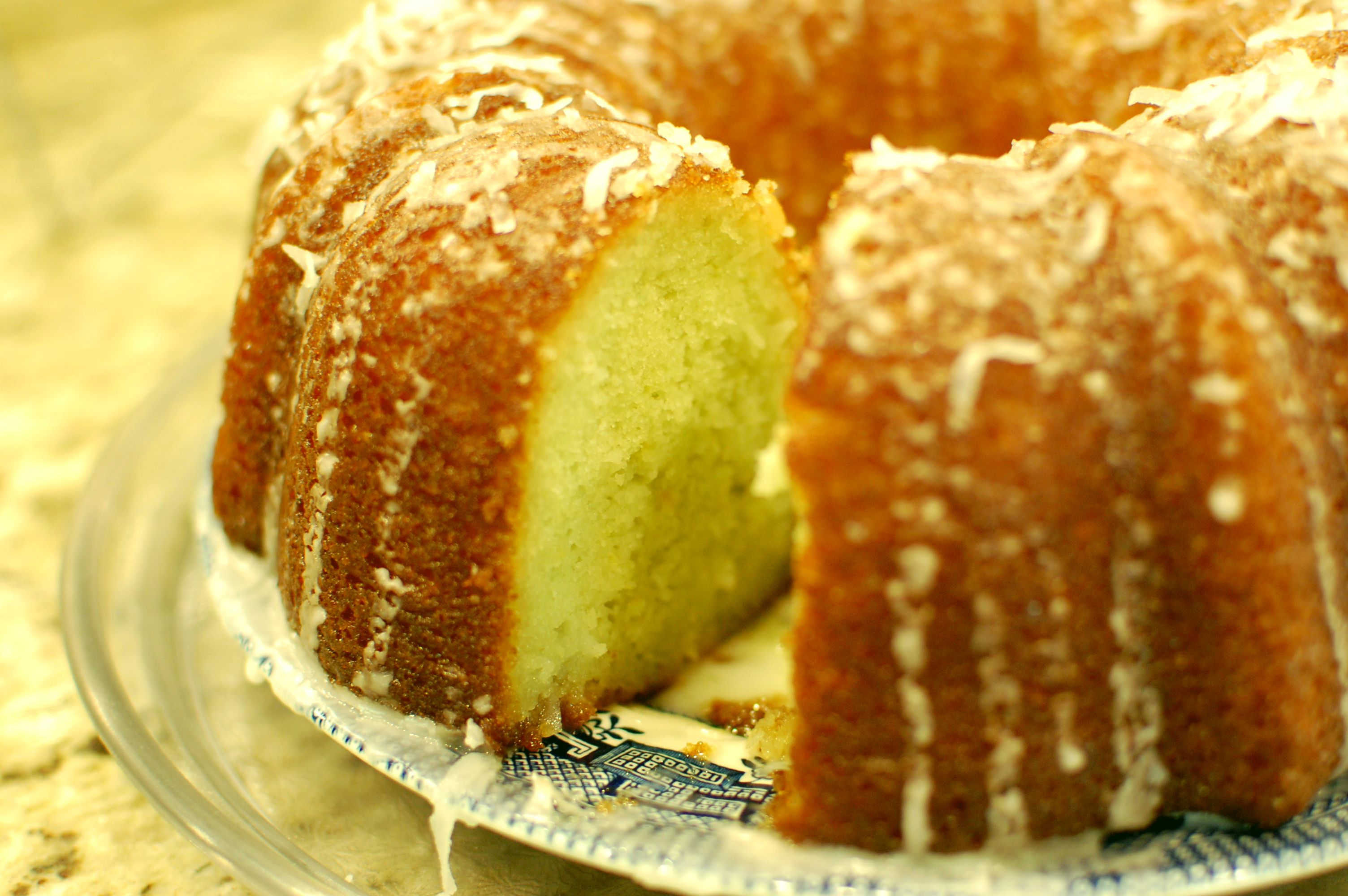Coconut Lime Bundt Cake — The 350 Degree Oven