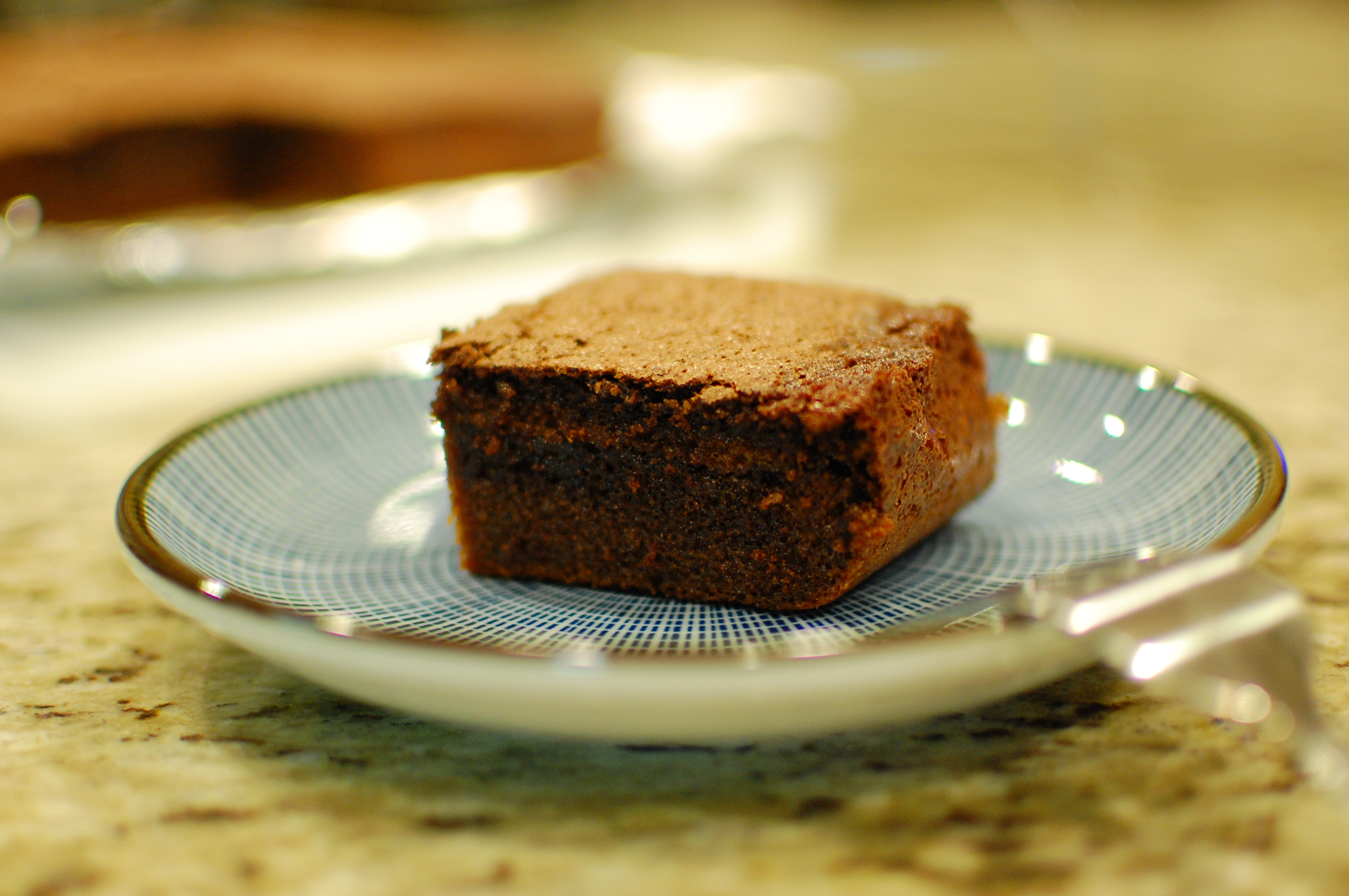 Chocolate Mochi Brownies Made With Rice Flour Gluten