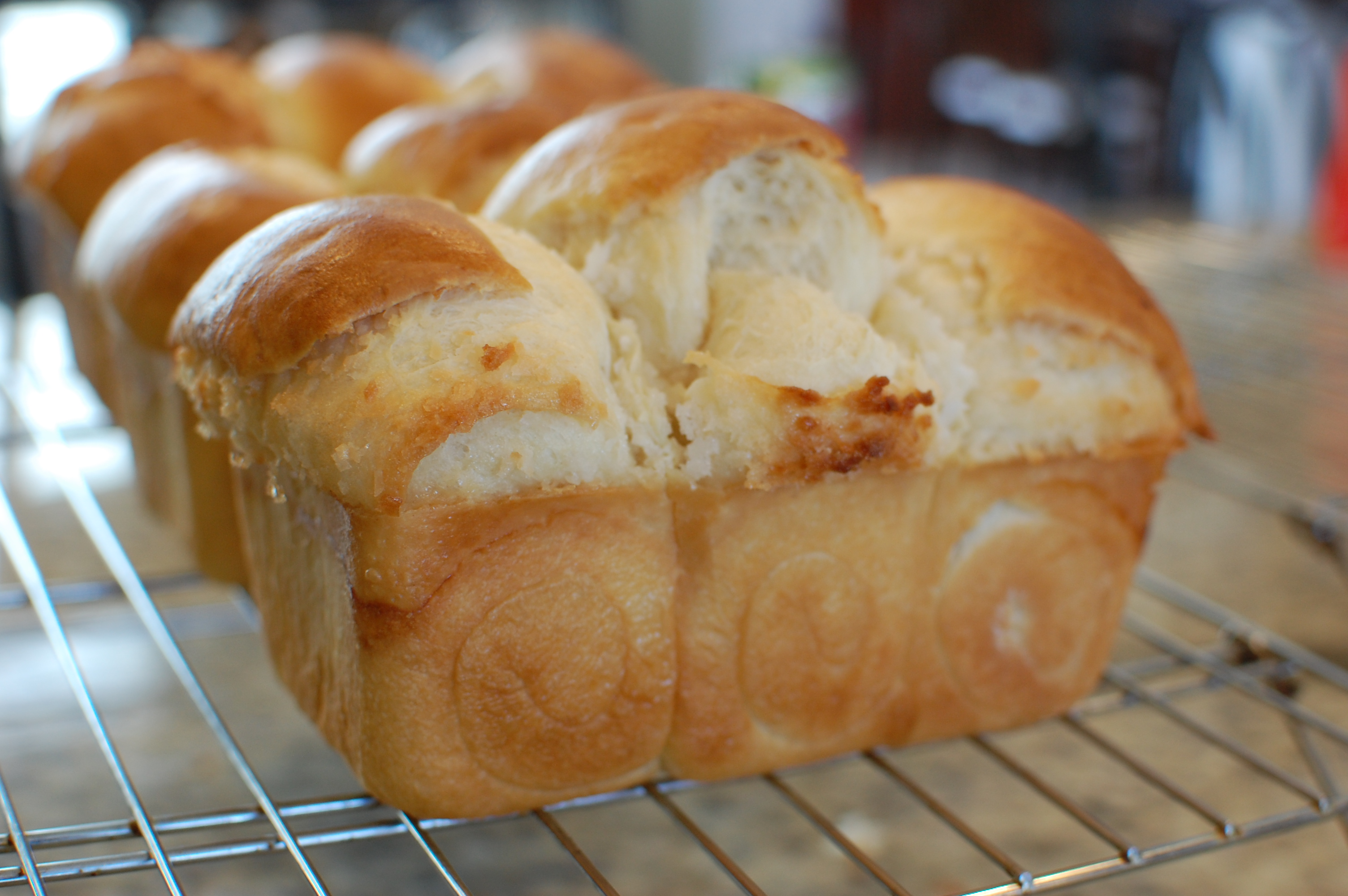 Chinese Coconut Milk Bread Chinese Coconut Milk Buns