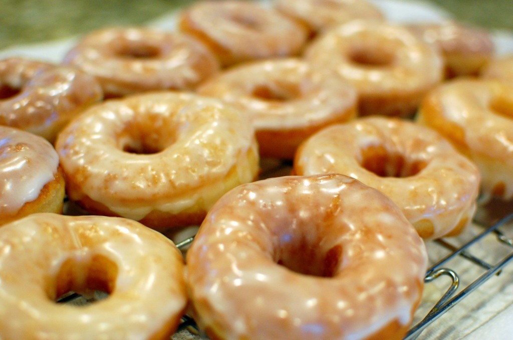 Homemade Glazed Donuts (Krispy Kreme Doughnut Copycat Recipe) — The ...