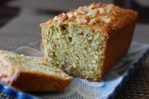 Avocado Walnut Bread