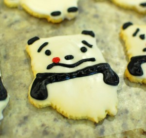 Awkward Panda Cookie