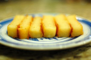 Banh Khoai Mi Nuong (Cassava Cake)