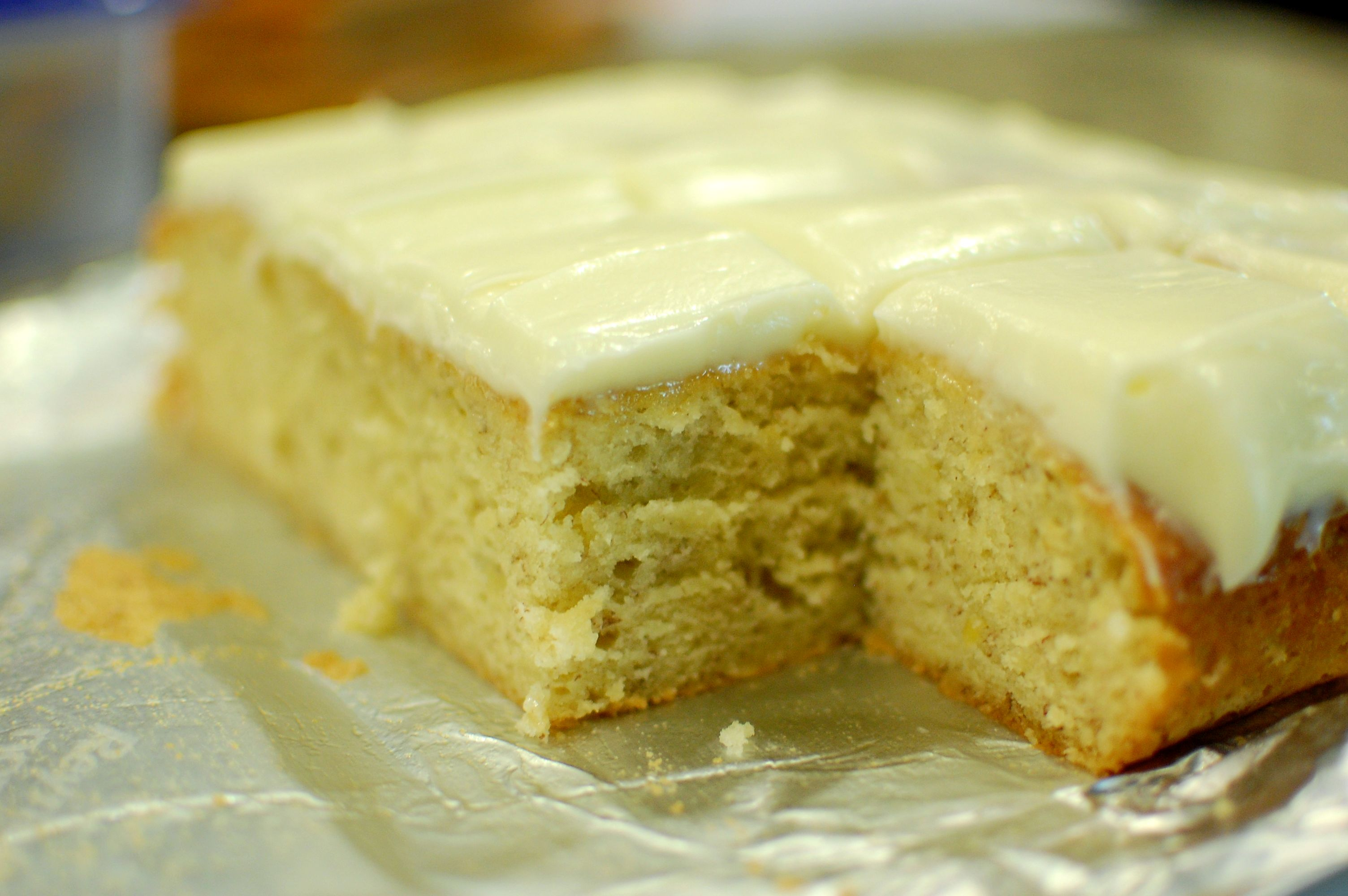 Banana Cake (Entenmann's Old Banana Cake Copycat Recipe) — The 350 ...