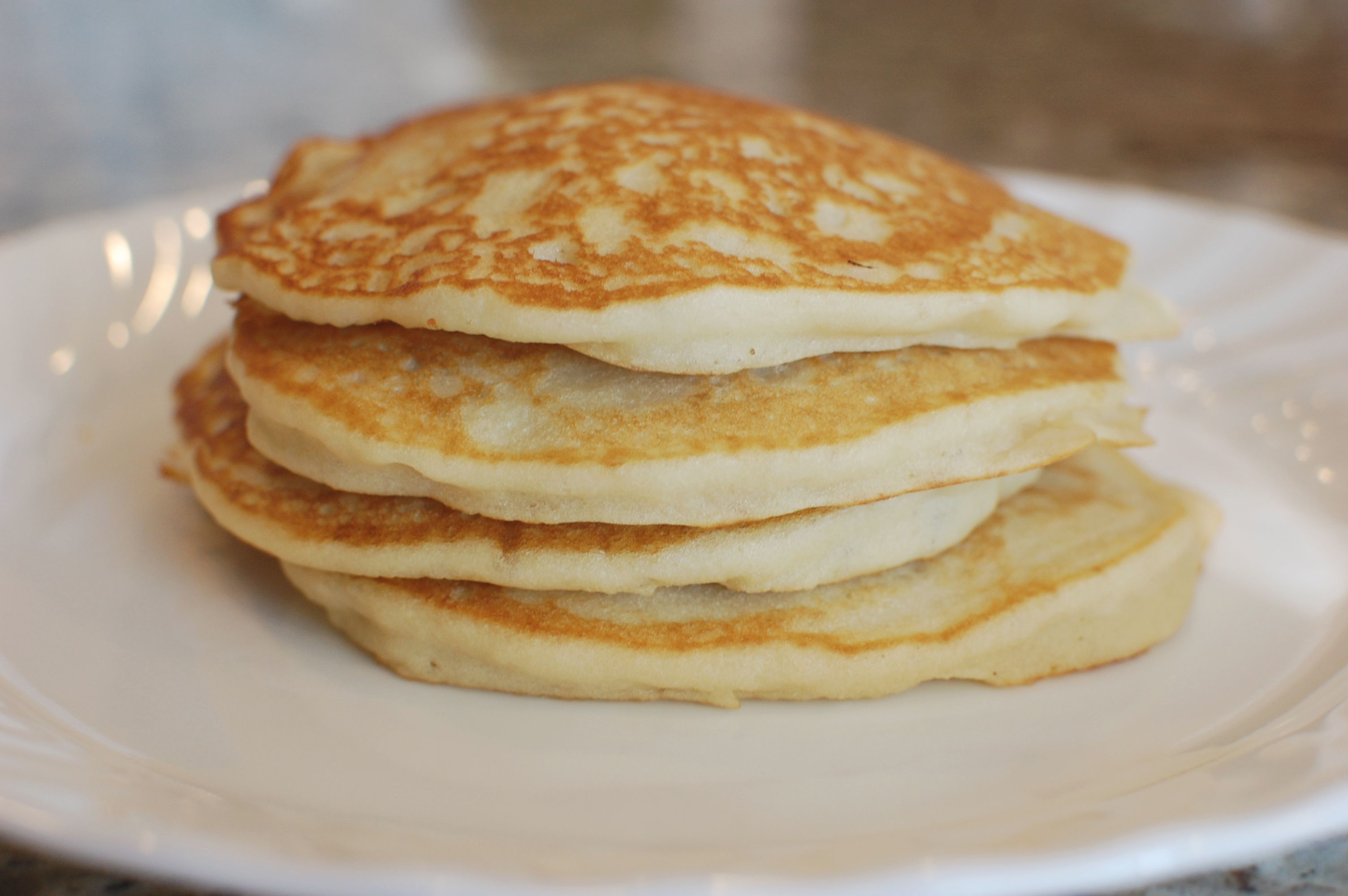 Fluffy Gluten Free Pancakes with Coconut Syrup (also Dairy ...