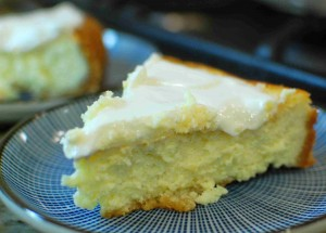 Italian Cheesecake - made with mascarpone and ricotta cheese