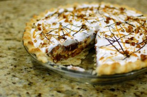 Caramel Pecan Silk Supreme Pie Recipe