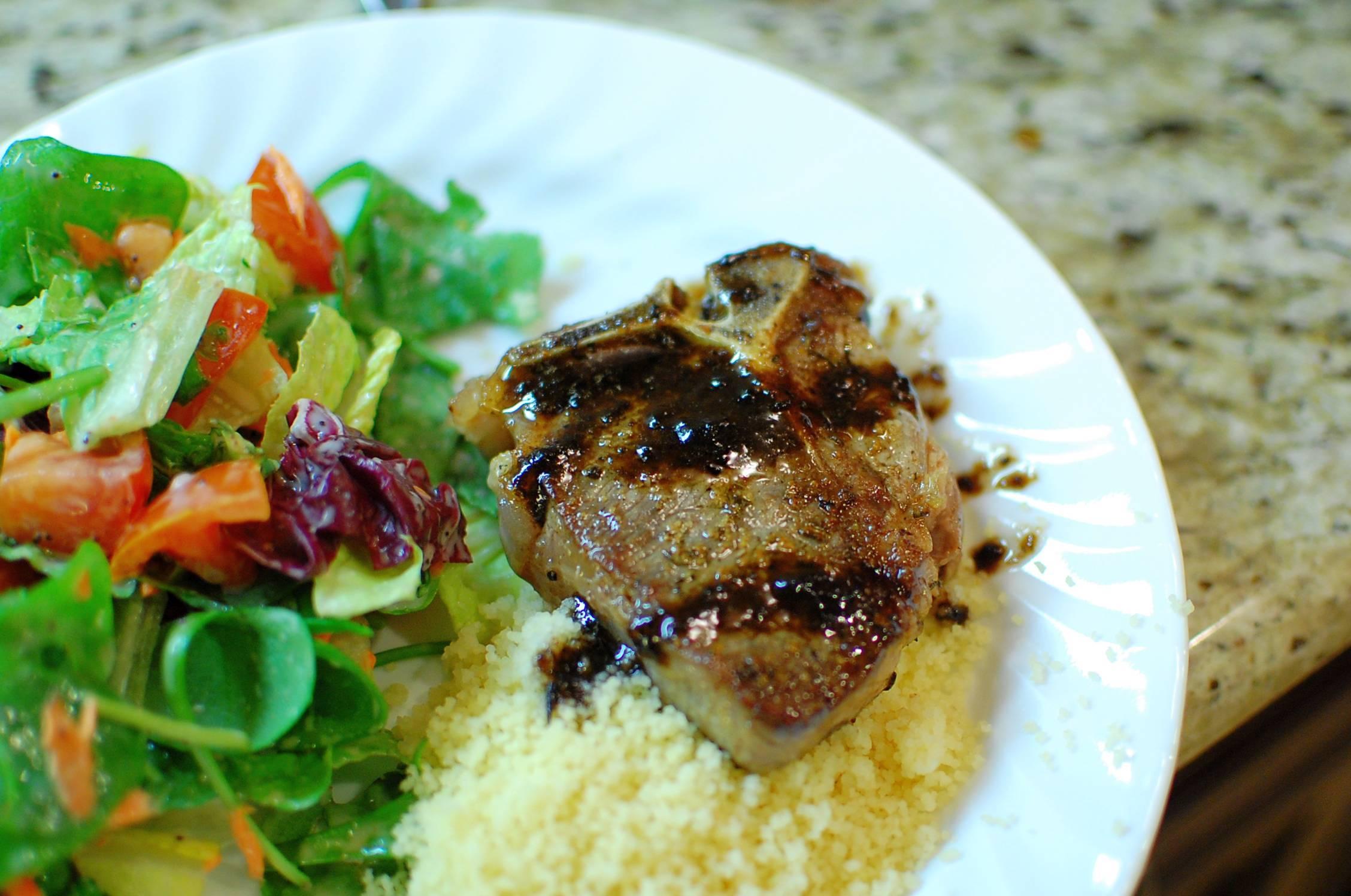 Pan-Seared Loin Of Lamb Recipe — Dishmaps