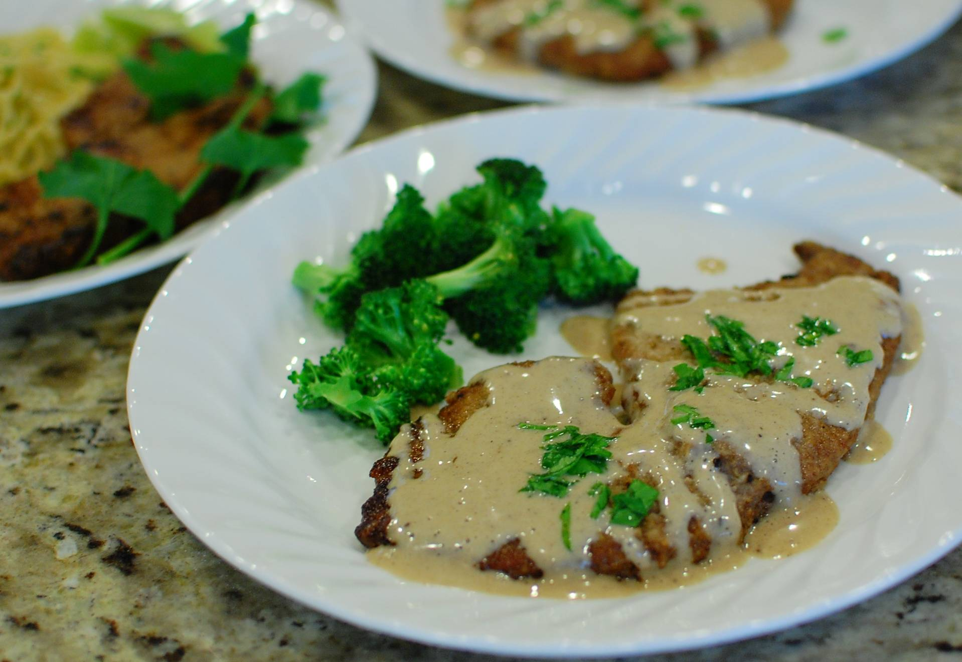 recipe: country fried steak and milk gravy [1]