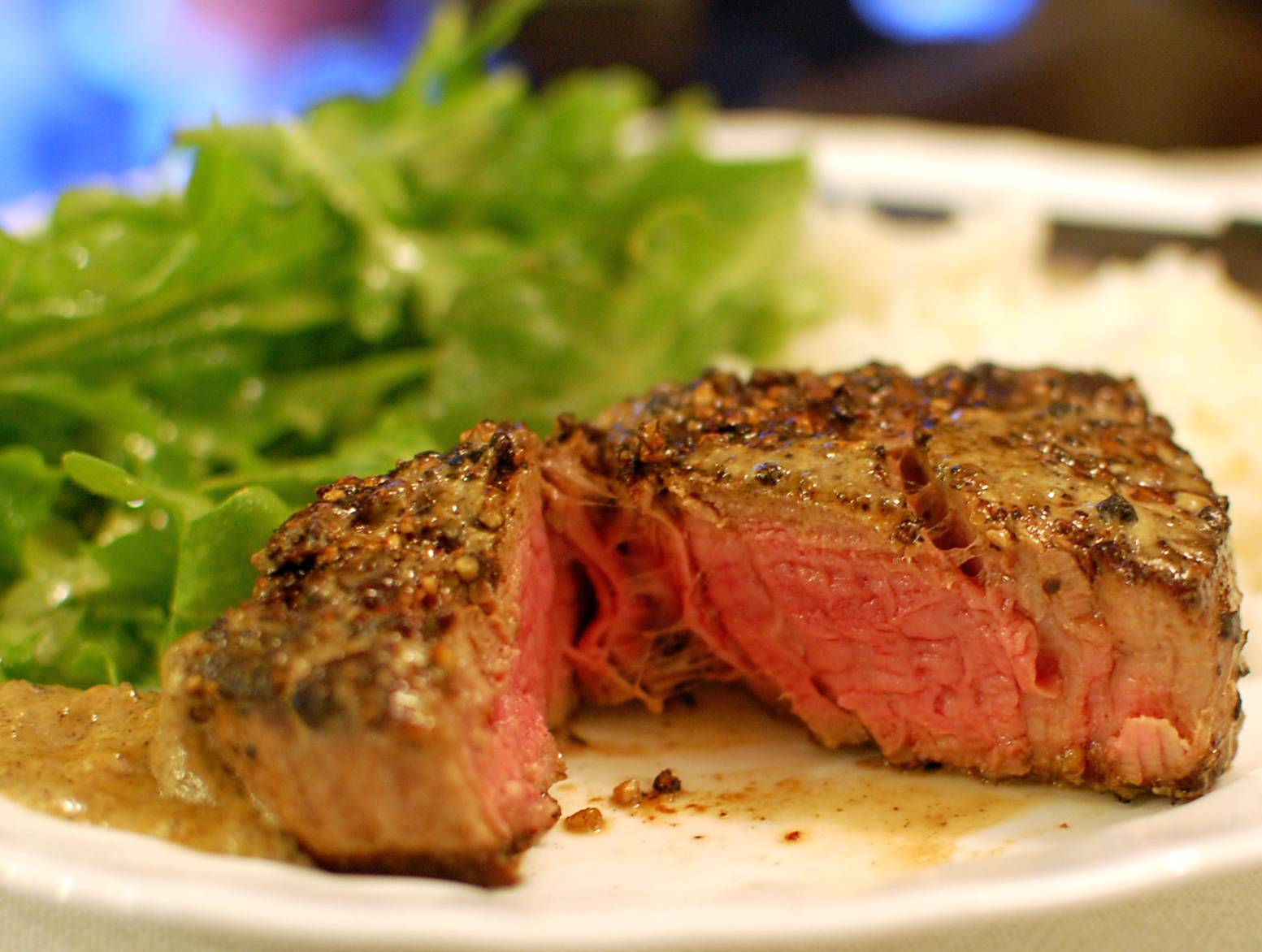 Steak Au Poivre How To Cook Filet Mignon Steak In A Pan