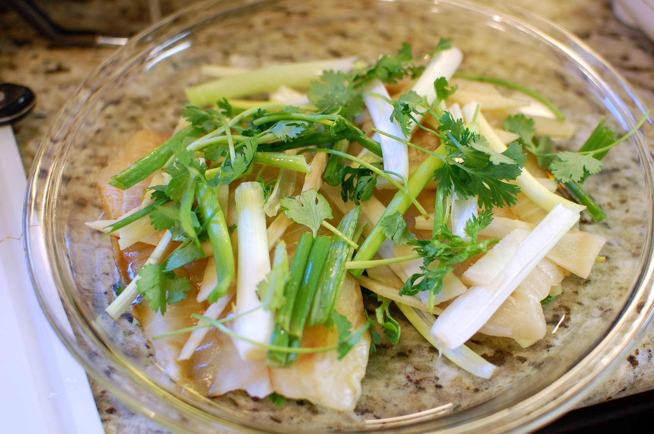 it steamed cod with ginger and steamed cod with ginger and steamed ...