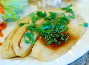 Asian Style Steamed Fish