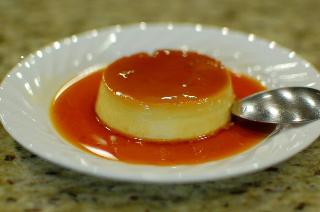 Caramel custard recipe with pictures Apple crumble custard cupcakes recipe BBC Good Food