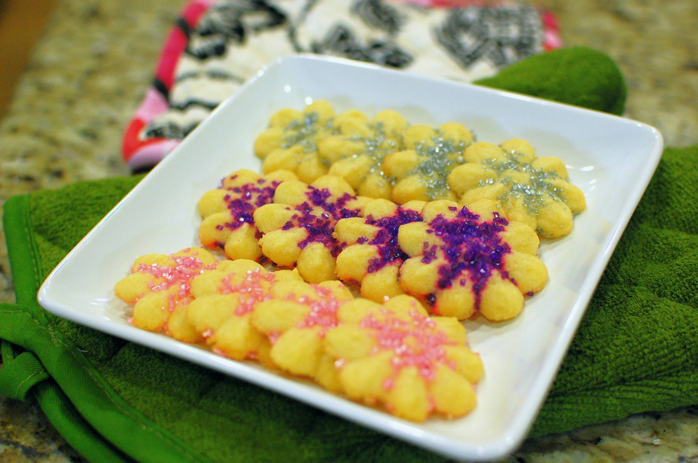 Press butter cookies recipe