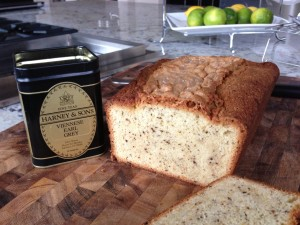 Earl Grey Tea Pound Cake