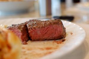 Perfect Medium Rare Beef Ribeye Steaks on the Big Green Egg Charcoal Grill