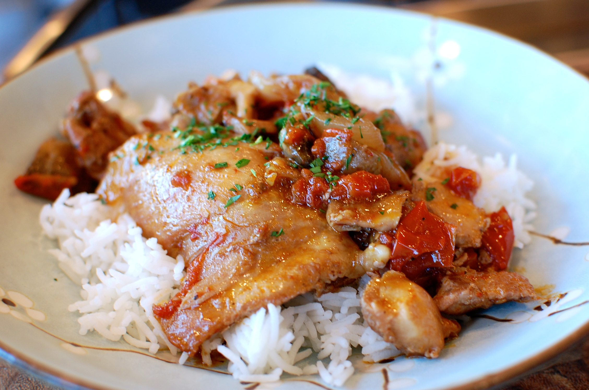 Chicken Cacciatore — The 350 Degree Oven