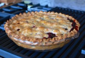 Homemade Fresh Cherry Pie