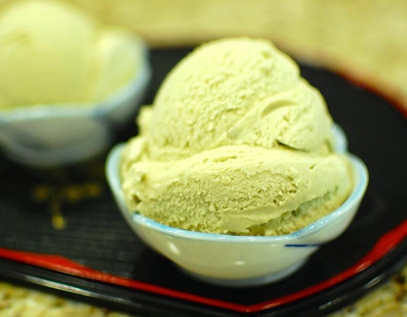 Homemade Green Tea Ice Cream — The 350 Degree Oven