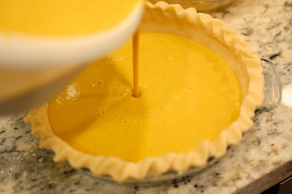 Fresh Homemade Pumpkin Pie From Scratch The 350 Degree