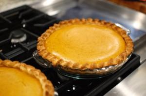 Homemade Pumpkin Pie from scratch.