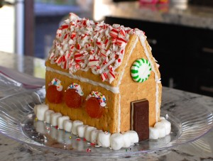 How Make Gingerbread House From Graham Crackers The Degree Oven