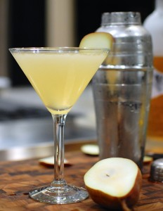 Infused Vodka Pear Martini