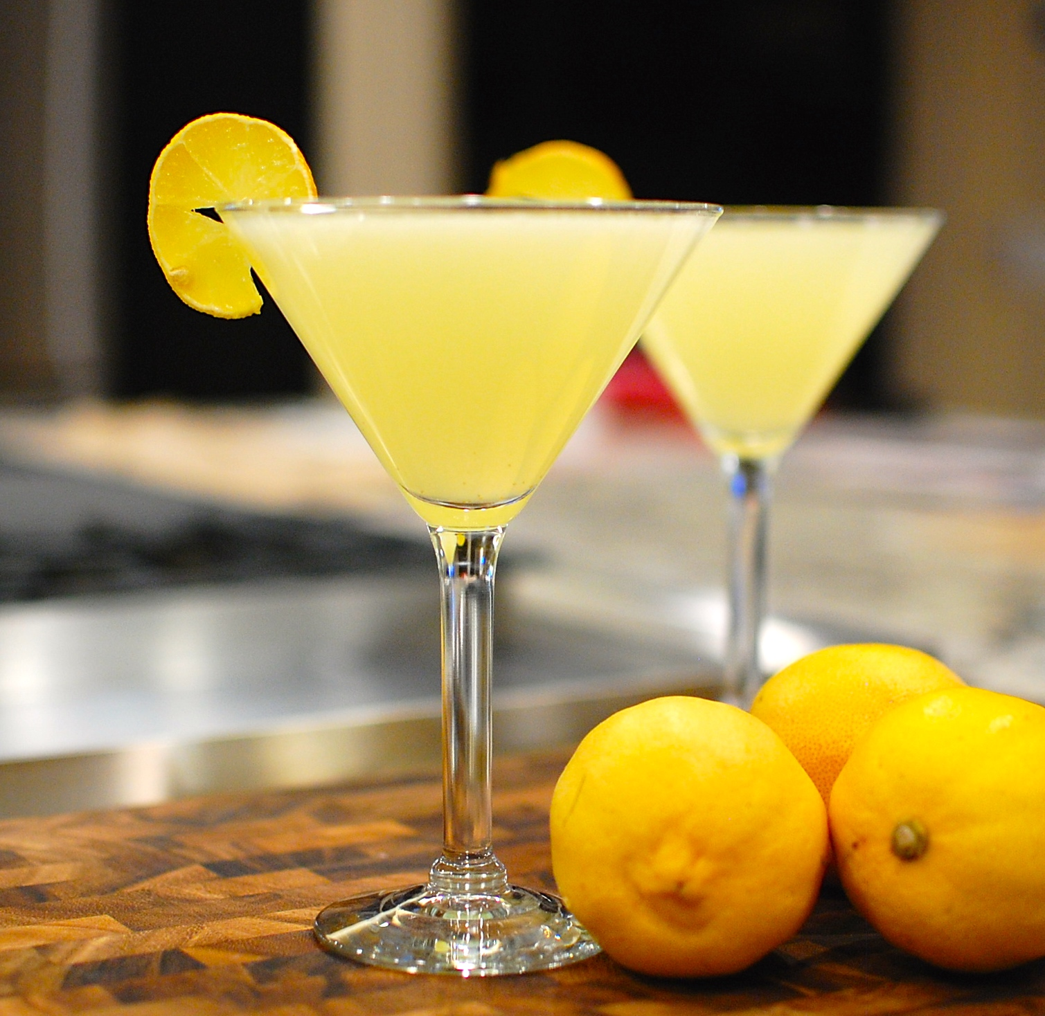 Fresh Lemon Drop Martini & Limoncello Martini — The 350 Degree Oven