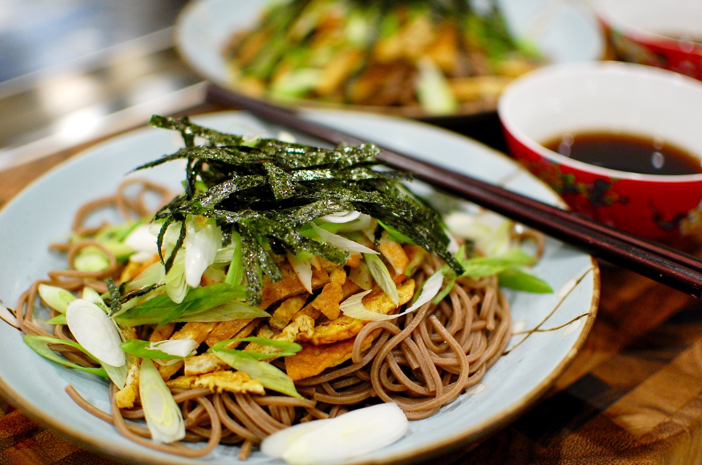 Zaru Soba (Cold Japanese Buckwheat Noodles) — The 350 Degree Oven