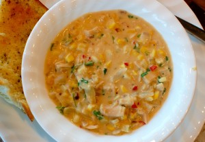 Spicy Chicken Corn Chowder