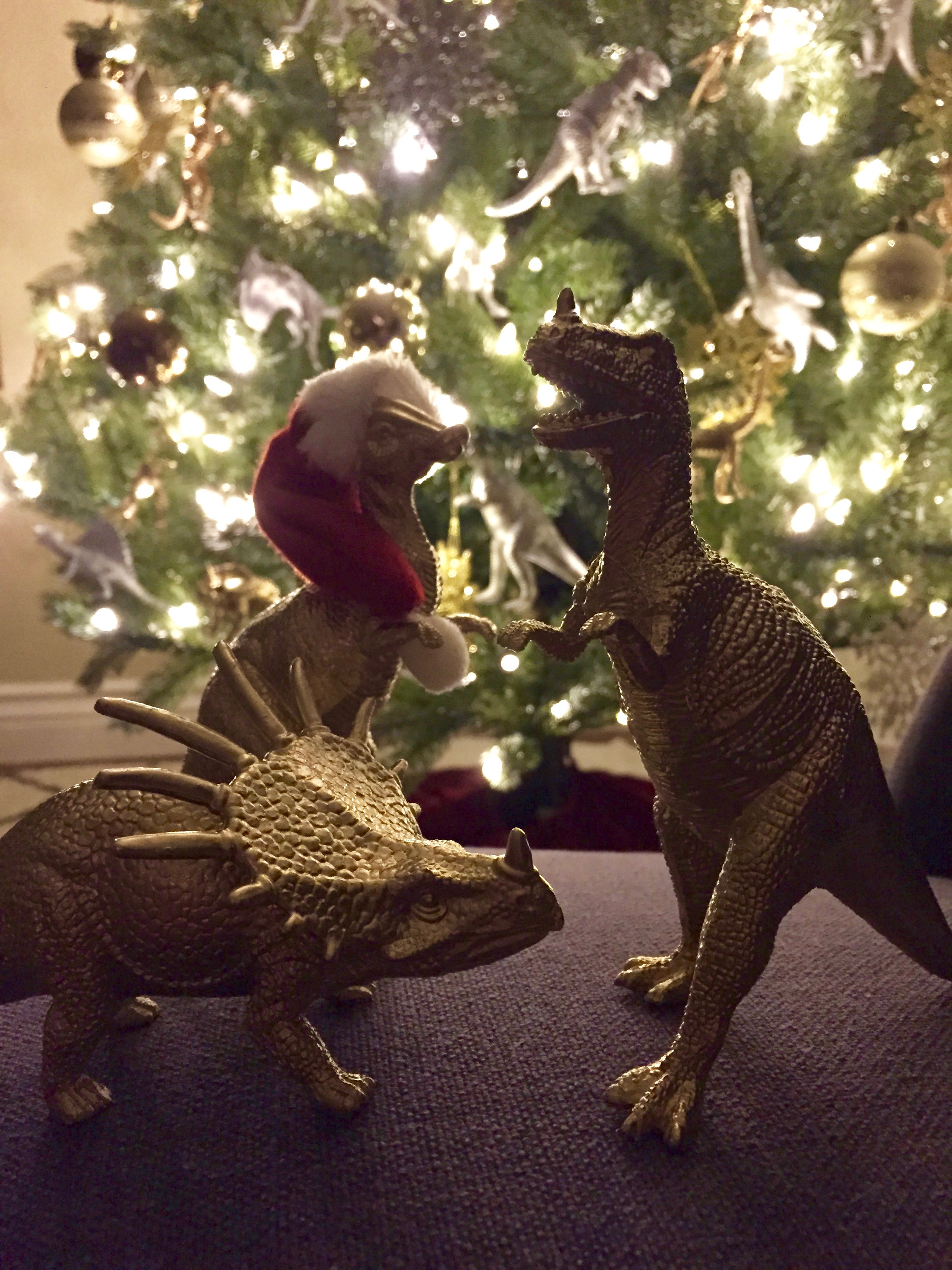 pin it - Dinosaur Christmas Decorations