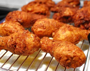 "KFC ""secret recipe"" chicken (Buttermilk fried chicken)"