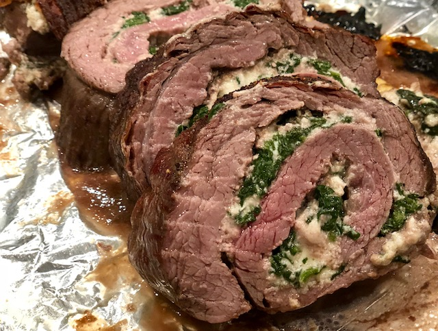 Spinach And Cheese Stuffed Roulade Steak The 350 Degree Oven